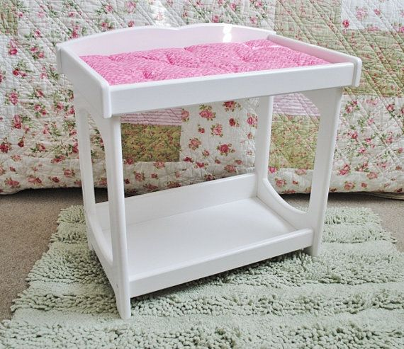 Baby Doll Changing Table by PinkieTwink on Etsy, $50.00