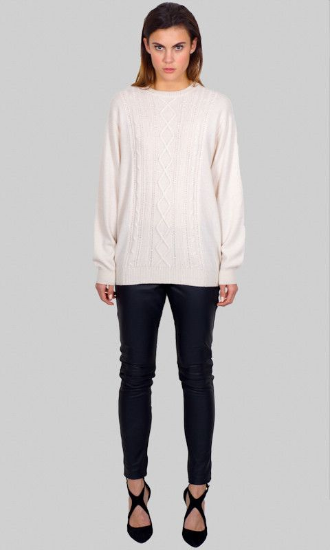 Hoss - People's Republic Of Cashmere Cable Jumper