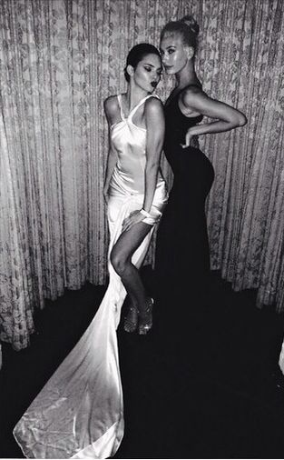Kendall Jenner And Hailey Baldwin killing it in gowns