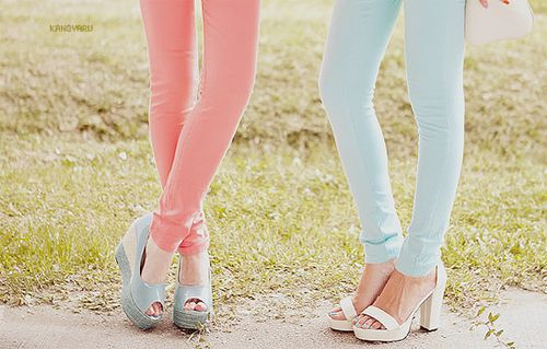 pastel legging jeans? <3