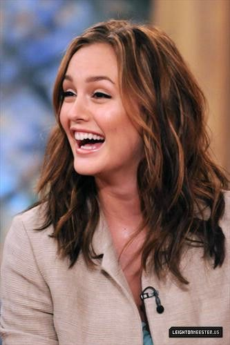 Leighton Meester Highlights Balayage Hair Balayage