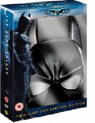 Batman - Mroczny rycerz - edycja kolekcjonerska - maska Batmana - Christopher Nolan