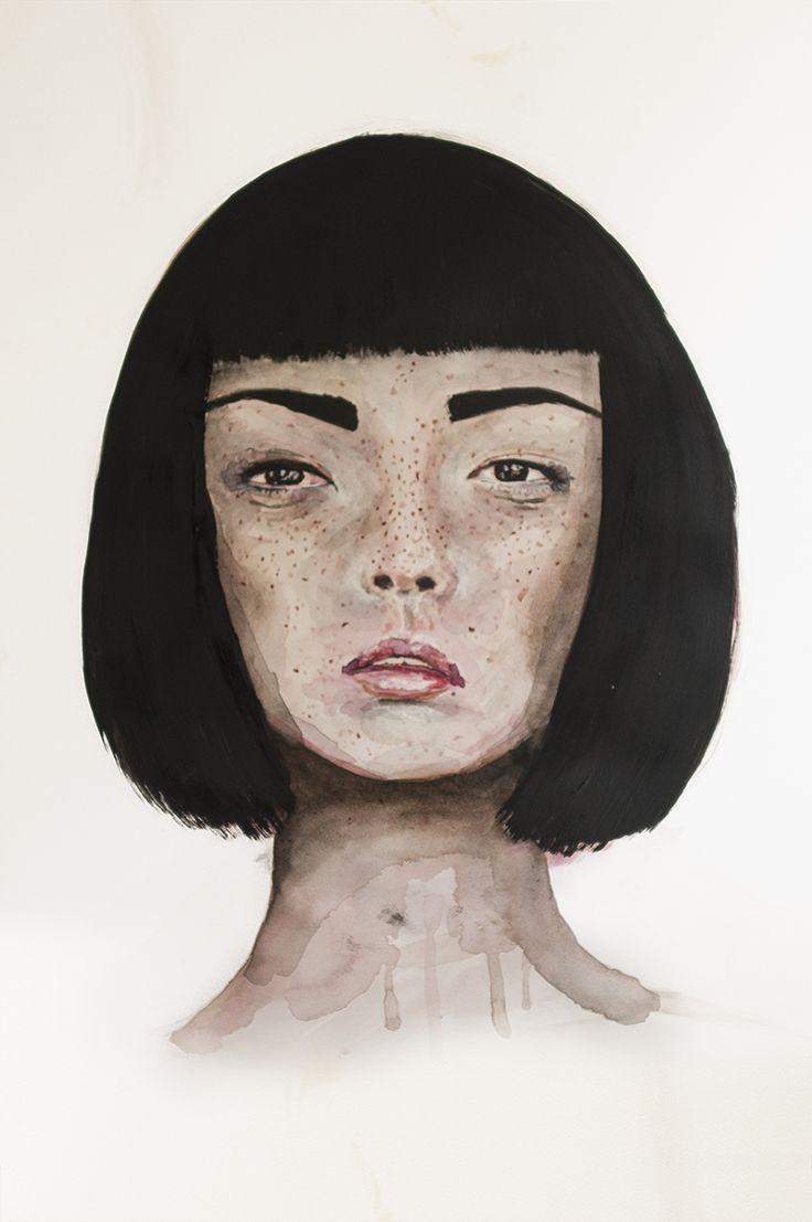 artwork by sofia evers BLOMSTRANDE | Blomstrande personer – Sofia Evers | http://blomstrande.com