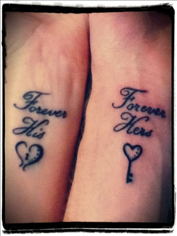 60 best tattoos for couples images on pinterest tattoo for Married couple tattoos