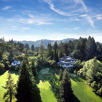 Meadowood Resort, Napa Valley. Gorgeous venue for a destination wedding in wine country. Dreaming of a glass of cabernet right now. Who else is with me? #destination weddings Photo: Courtesy of Meadowood