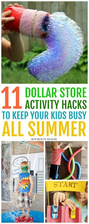 11 Fun Activities to DIY This Summer From The Dollar Store – Hot Beauty Health