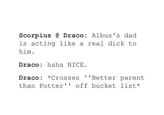 The Cursed Child basically