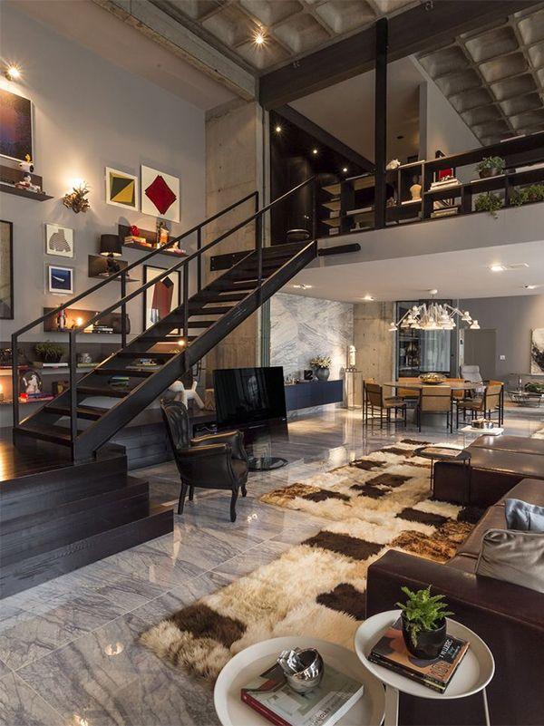 Contemporary interior design ideas deco pinterest for Apartamentos disenos modernos