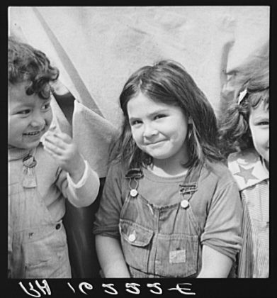 No Known Restrictions: Migrant Children by Dorothea Lange, 1937 (LOC) by pingnews.com, via Flickr