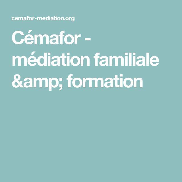 Cémafor - médiation familiale & formation
