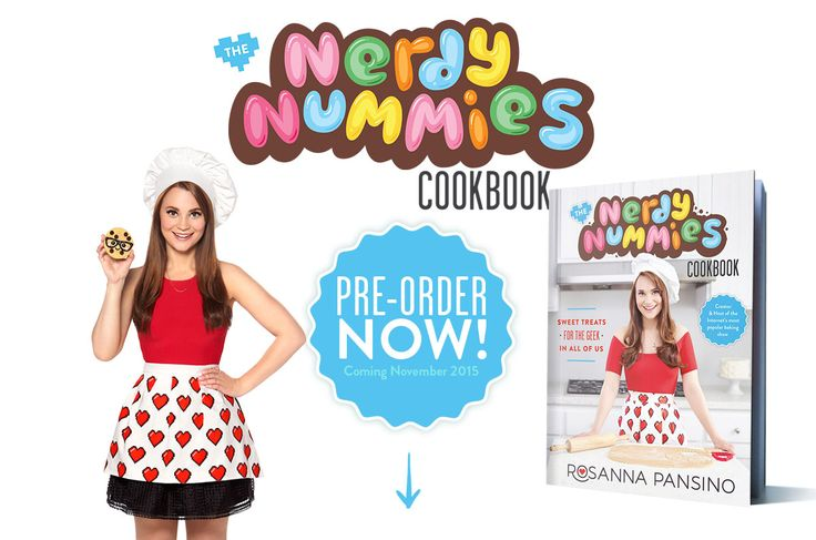 You can Pre-Order the Nerdy Nummies Cookbook now at www.nerdynummiescookbook.com