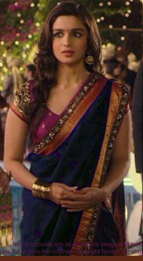 Alia bhatt indian traditional bollywood saree, designer saree, party wear saree, facny saree. Online | Buy Try n Get Saree India.
