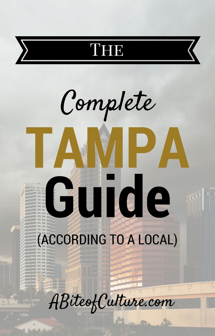 The Complete Tampa, Florida Guide: According to a Local- If you're headed to Tampa, be sure to check out this guide! All the best things to do, eat, see, drink, and more! You'll be experiencing Tampa as a local, not as a tourist. Happy travels and enjoy this , a BIte of Culture, via @topupyourtrip