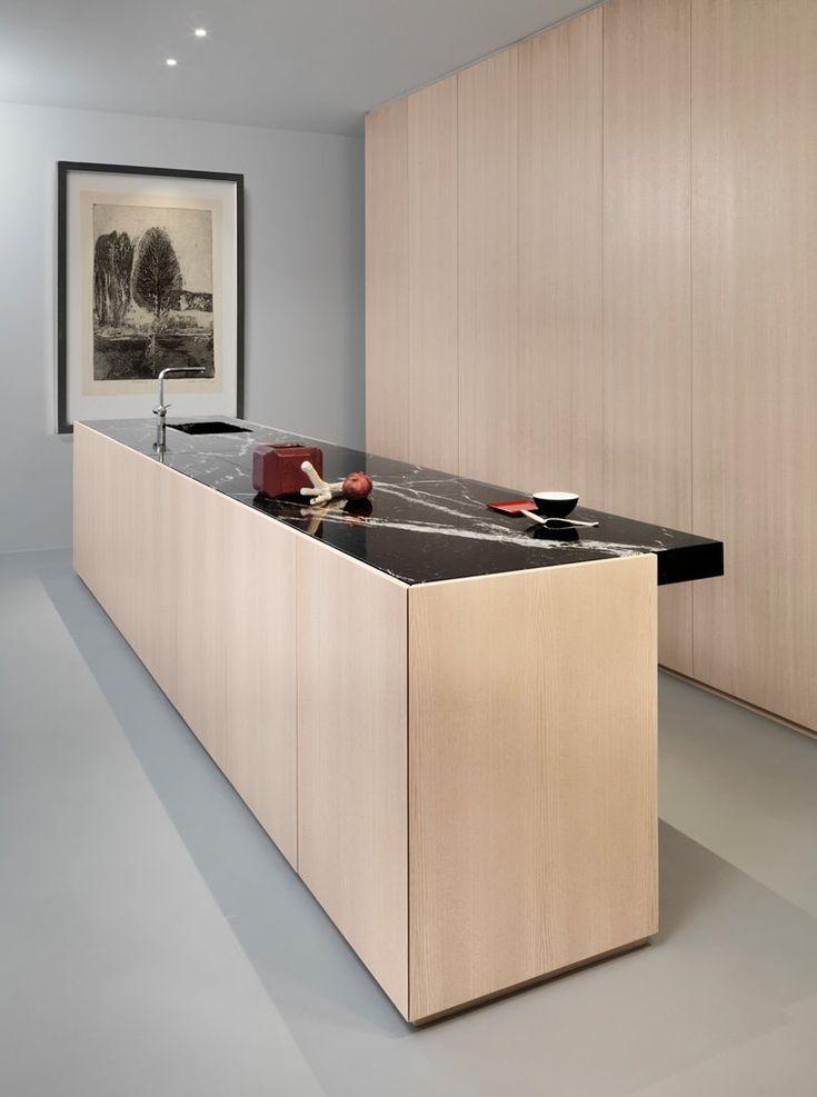 870 best Kitchens images on Pinterest Gourmet cooking, Kitchen - harmonisches minimalistisches interieur design