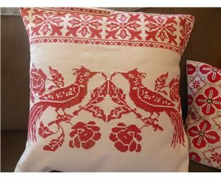 Vintage Transylvanian Embroidery Cushion Covers (Medium)