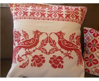 Vintage Transylvanian Embroidery Cushion Covers (Medium)