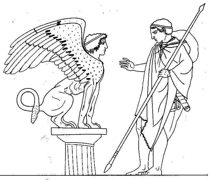 Oedipus and Sphinx | A...