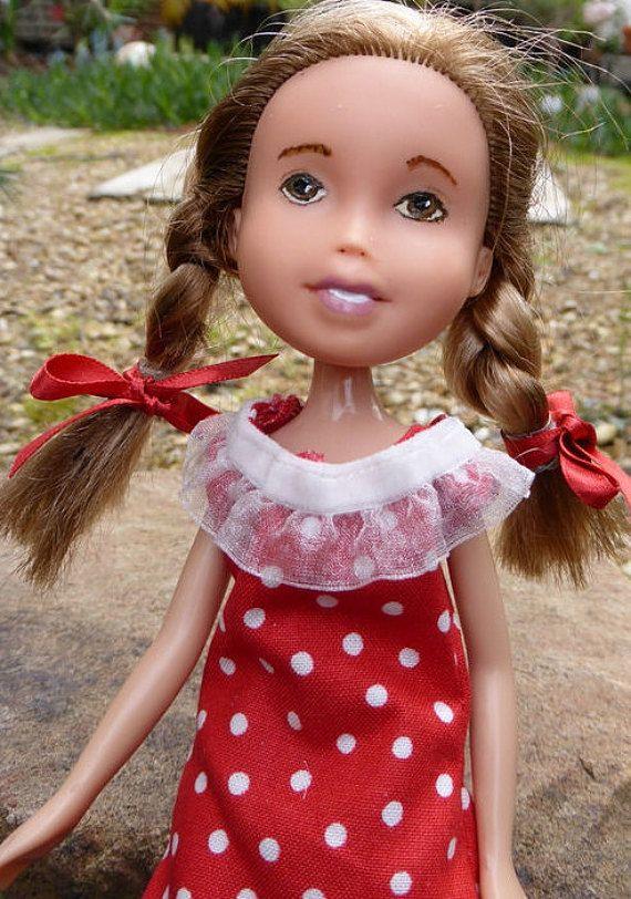 Gum Leaf Doll  OOAK made-under Bratz Doll with by thecraftypioneer