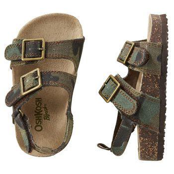 OshKosh Camouflage Sandals