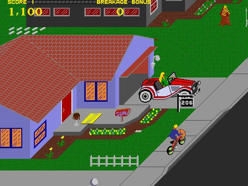 Paperboy! I loved this game!