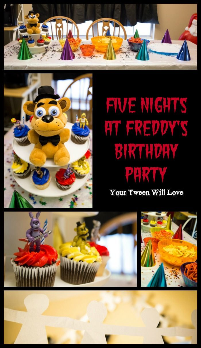 Ideas five nights at freddy party - How To Create A Five Nights At Freddy S Birthday Party Your Tween Is Sure To Love