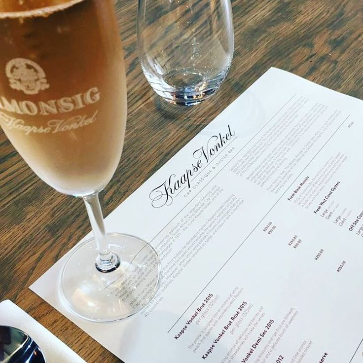 New bubbly-and-oyster bar opens in Stellenbosch - Eat Out