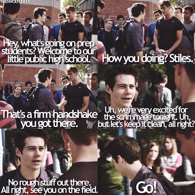 """S4 Ep5 """"I.E.D."""" - Stiles"""