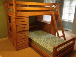 Solid Wood Bunk Bed With Desk And Drawers Luxurybeddingwood Wooden Bunk Beds Bunk Bed With Desk Bunk Beds With Drawers