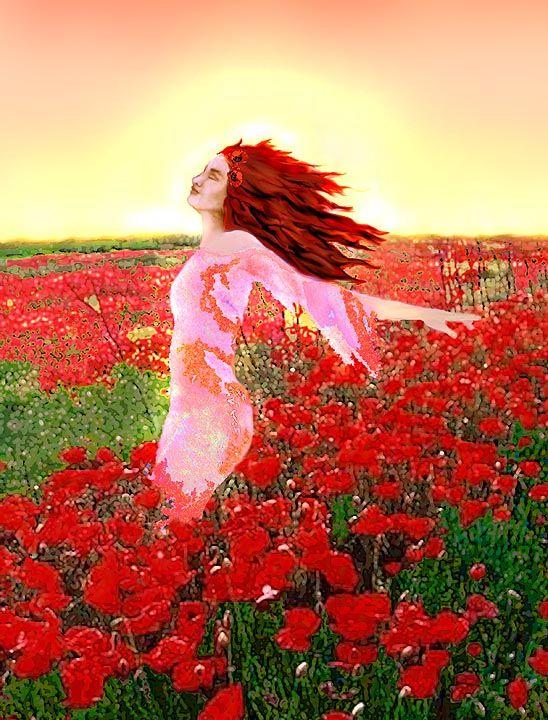 TO BE REBORN AS YOUR FAVORITE FLOWER ~ Montserrat