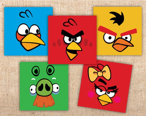 Angry bird party decorations verjaardag jurn pinterest for Angry bird decoration ideas