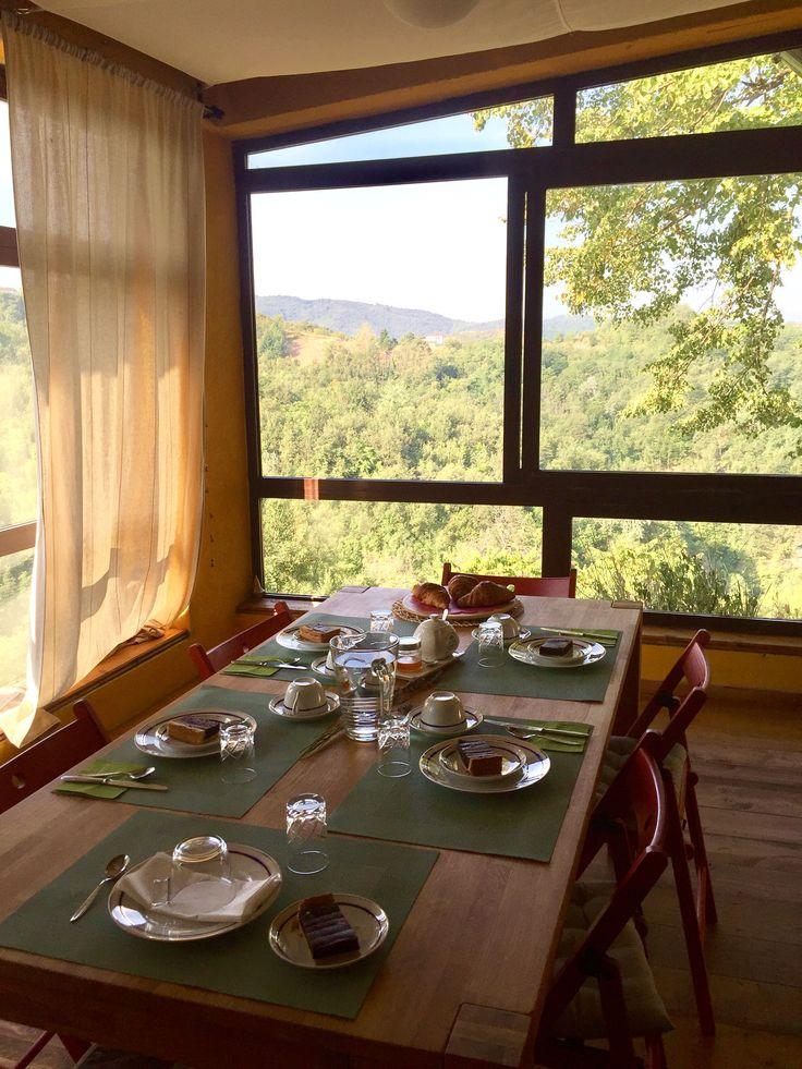 Breakfast in Veranda... Our Cascina in alto Monferrato  www.algiardinodeimandorli.com