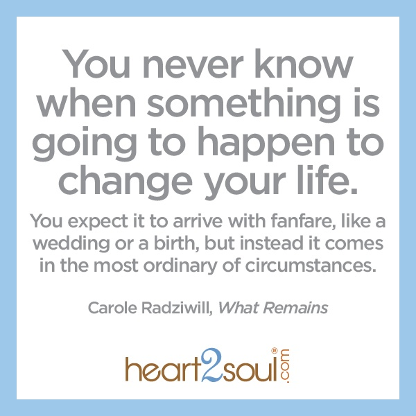I just starting reading this book and couldn't help pulling this quote. Well said @Carole Radziwill