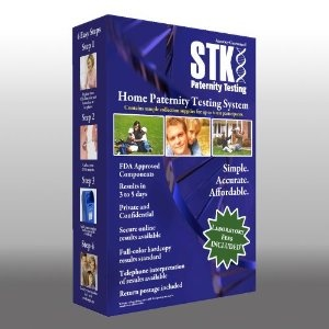 STK's Paternity Testing Kit - INCLUDES ALL LAB FEES and FREE Return Mailer for 99.999% accurate 2-person testing (Health and Beauty)  http://www.amazon.com/dp/B0064F57US/?tag=goandtalk-20  B0064F57US