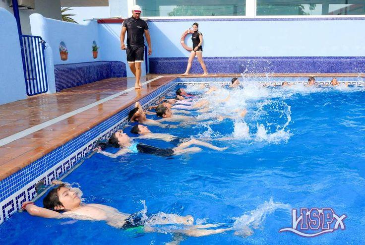 #SummerCampISP 2017 Todos los grupos de natación desde P3, incluidos Primaria y Secundaria, han participado y se han dado un chapuzón. 😃🏊🏽