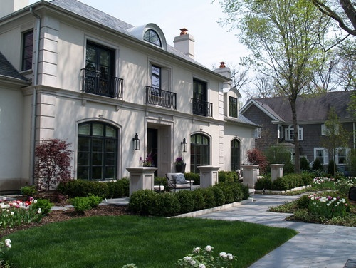 Exterior photos stone french chateau design pictures for French chateau exterior design