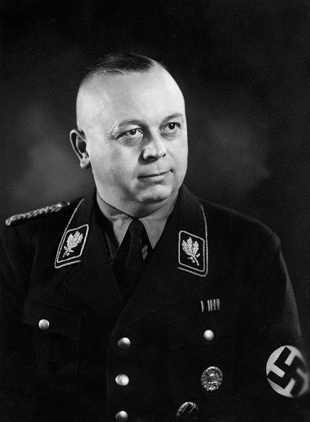 Wilhelm Schepmann (17 June 1894 – 26 July 1970) was an Sturmabteilung (SA) general (Obergruppenführer) in Nazi Germany and the last Stabschef (Chief of Staff) of the Nazi Stormtroopers.