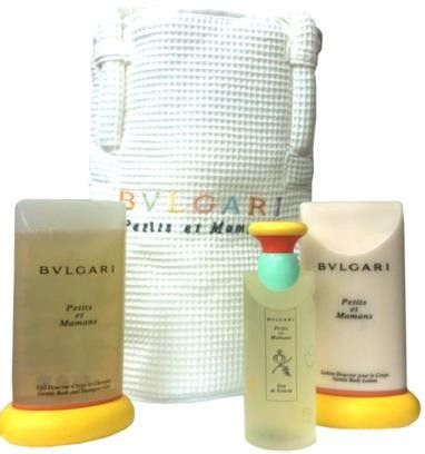 Bvlgari  Petits  Et  Mamans  Gift  Set  by  Bvlgari  Perfume  for  Kids  4  Piece  Set  Includes:3.4  oz  Alcohol  Free  Scented  Water  Spray  +  6.8  oz  Body - from my #perfumery
