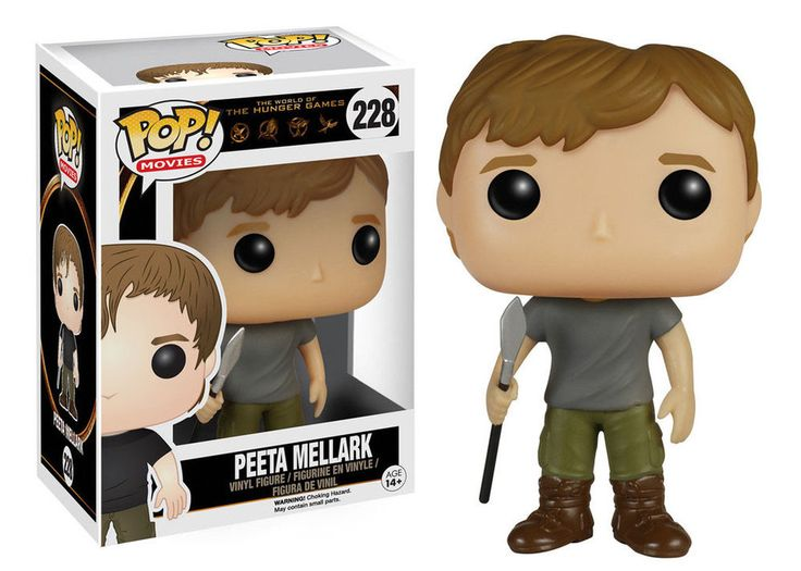 Die Tribute von Panem POP! Movies Vinyl Figur Peeta Mellark 9 cm