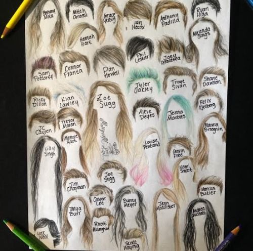drawing of you tubers - Google Search