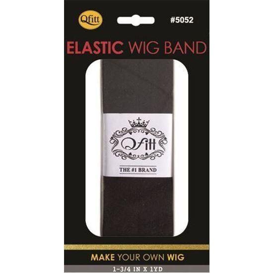 Qfitt Elastic Wig Band 5052 Black Elastic Band Wigs