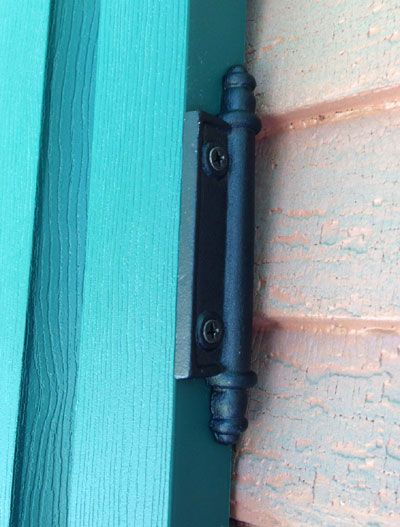 Faux Shutter Hinge from Shop 4 Classics