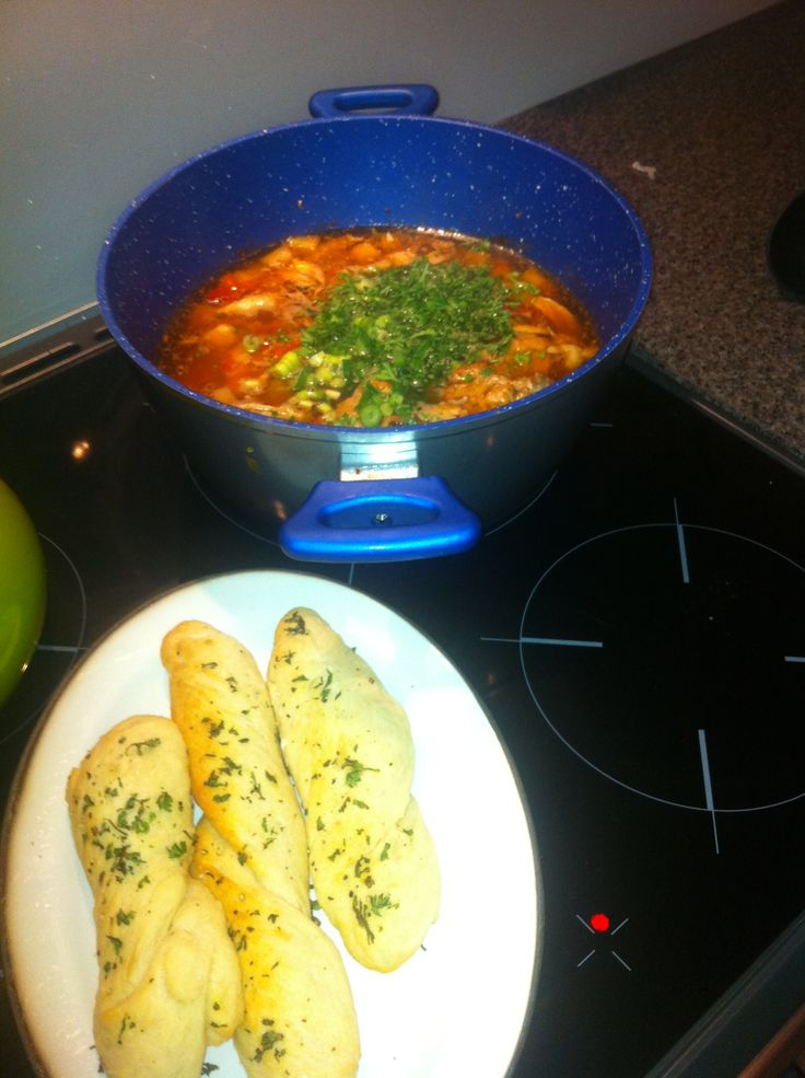 Keep the bones warm over winter with chicken soup and home made bread