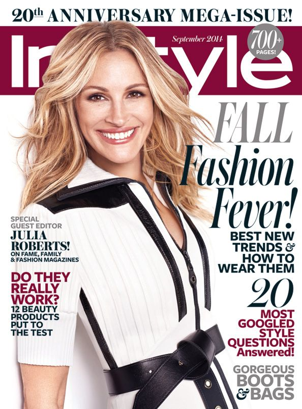 julia roberts graces instyles september issue an iconic star for a historic issue