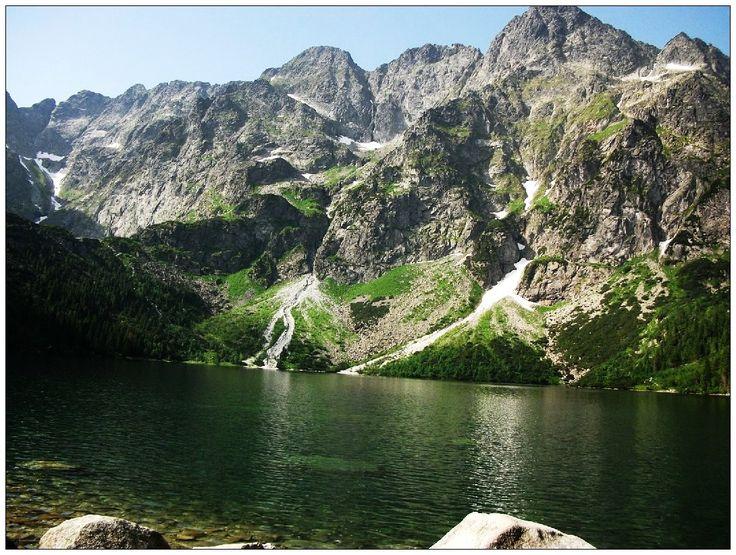 Morskie Oko - Mięguszowieckie Szczyty - Tatry - Tatra Mountains - Poland - Landscapes #krajobrazy #górskie #Poland #Polska #zdjęcia #HDR #photography #landscapes #góry #Mountains #Tatry #Tatra #Mountains