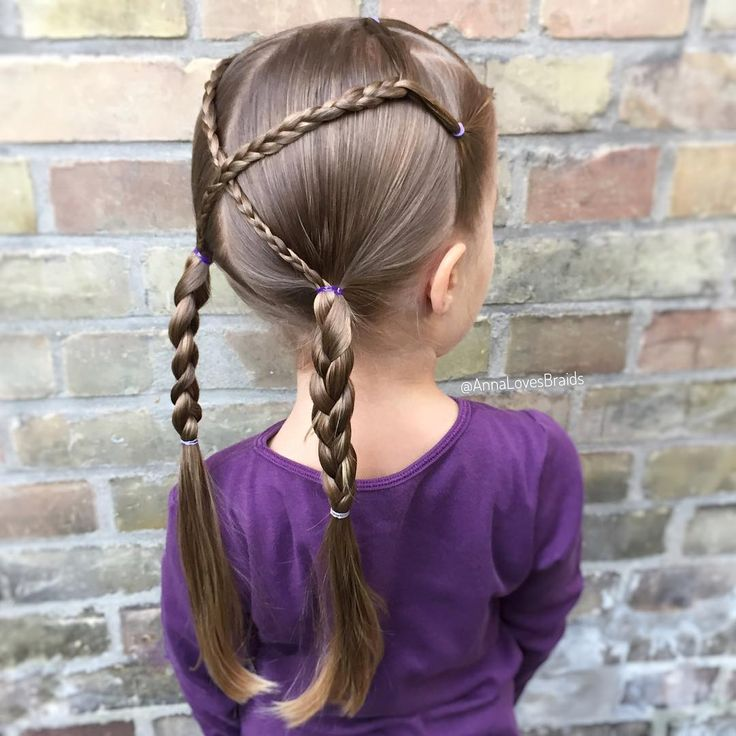 For this hairstyle, I split the front hair into three smaller parts …, #distributed #this #dress #hair #small #parties #vorderen, '…