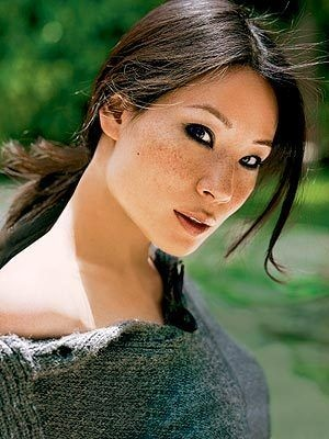 Lucy Liu The Asiatic Women are magics. Even if you can bare to look at only their eyes