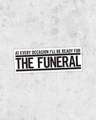 The Funeral ~ Band of Horses