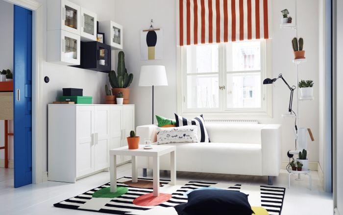 Padrões, cores e mais cores: sala pronta para receber sorrisos.  #decoração #ikeaportugal