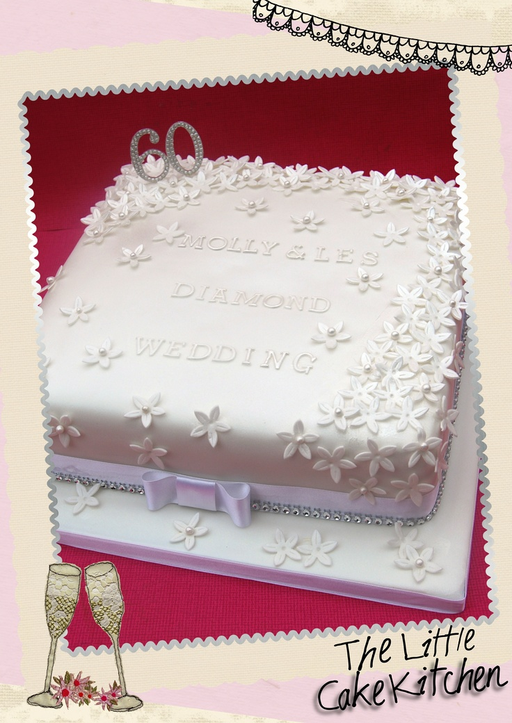 diamond wedding cakes 17 best events wedding anniversary images on 13514