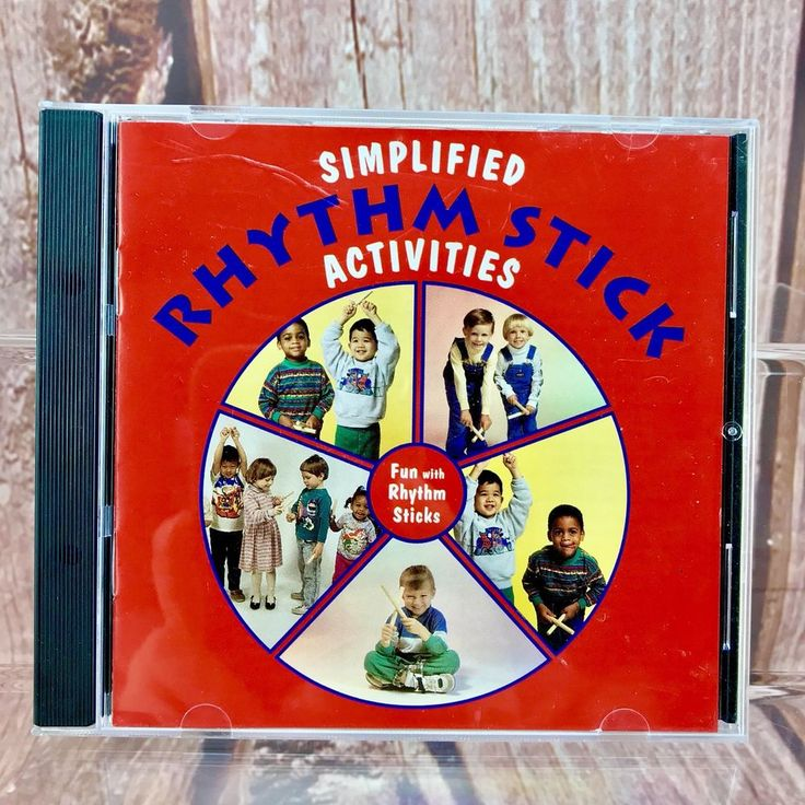 Simplified Rhythm Stick Activities Kimbo Educational songs  tap your way to fun